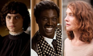 Soko in The Dancer; Omar Sy in Monsieur Chocolat; and Isabelle Huppert in Things to Come