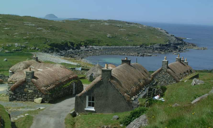 Gearrannan Blackhouse Village, Isle of Lewis, Scotland
