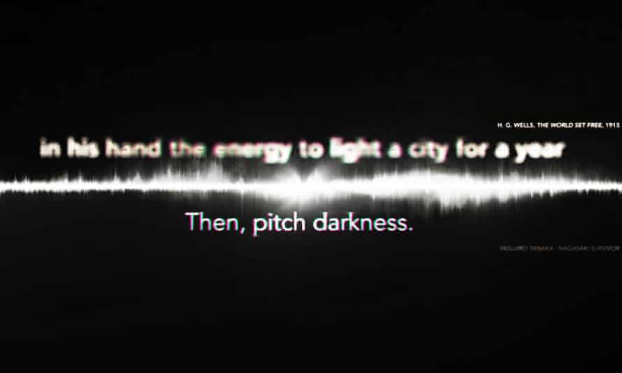 Then, pitch darkness ... Still from I Saw the World End.