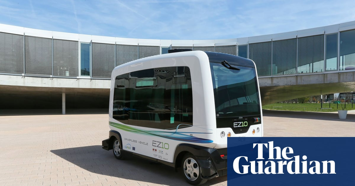 Driverless Bus Trial In Netherlands Is First On Public Roads