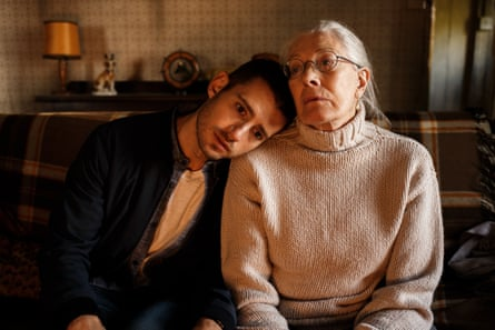 'Thinking herself well versed in sordid matters' … Vanessa Redgrave and Julian Morris in Man in an Orange Shirt.