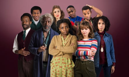 The cast of Kwame Kwei-Armah's BBC Four monologues Soon Gone: A Windrush Chronicle.