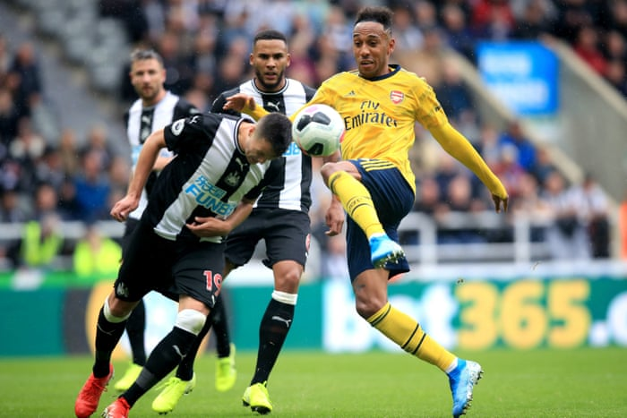 Image result for newcastle 0-1 arsenal 2019