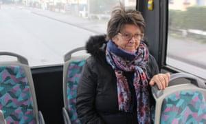 Claude Pointart, a passenger on a Dunkirk bus