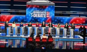 November's Democratic debate in Atlanta.