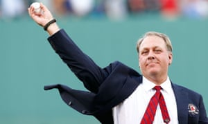 Curt Schilling has been dogged by controversy over his political views