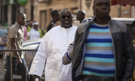 Papa Massata Diack, centre, is alleged to have spent hundreds of thousands of pounds on jewellery in the days following the 2016 and 2020 votes.