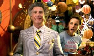 Unwatchable. Dustin Hoffman and Natalie Portman in Mr Magorium's Wonder Emporium.