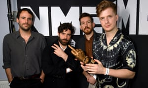 'This is the longest I've gone without playing the drums since I was 14' … Jack Bevan, on right, with Foals.