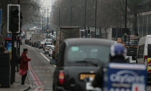 'You can taste the pollution' ... London's Marylebone Road.