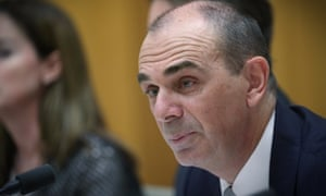 Australian Prudential Regulation Authority Wayne Byres appears before MPs
