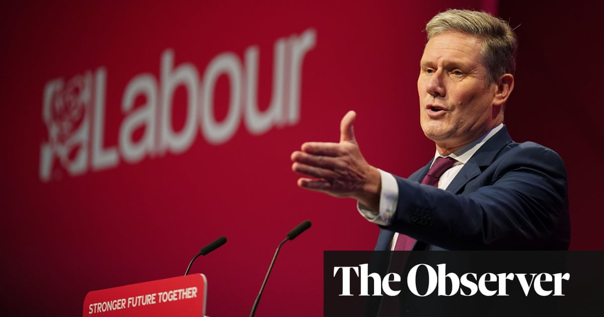 The Observer view on Keir Starmer's Labour conference speech