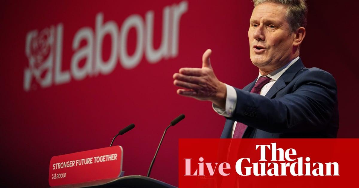 Voters preferred Keir Starmer's conference speech to Boris Johnson's address, poll suggests – UK politics live