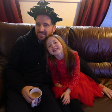 Colin Crummy with his neice