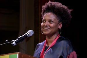 Tracy K Smith speaks at Harvard University where she received the 2019 Harvard Arts Medal