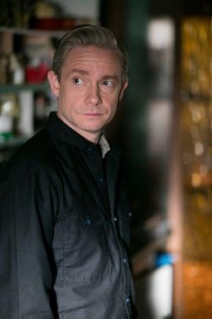 Brutal … John is left a widow, betrayed by Sherlock.