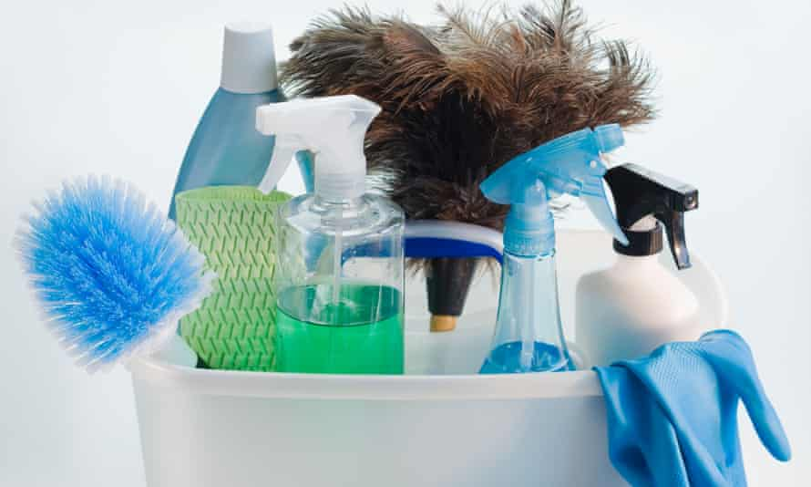 Ditch the harmful chemicals, and get a clean house.