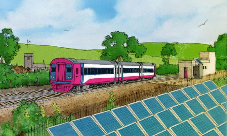 Solar train