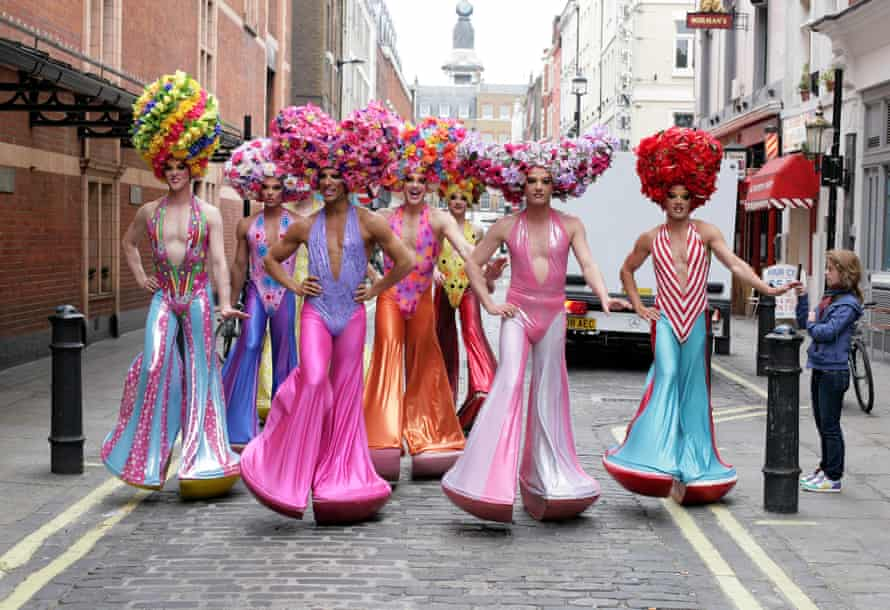 A Priscilla photocall in the West End