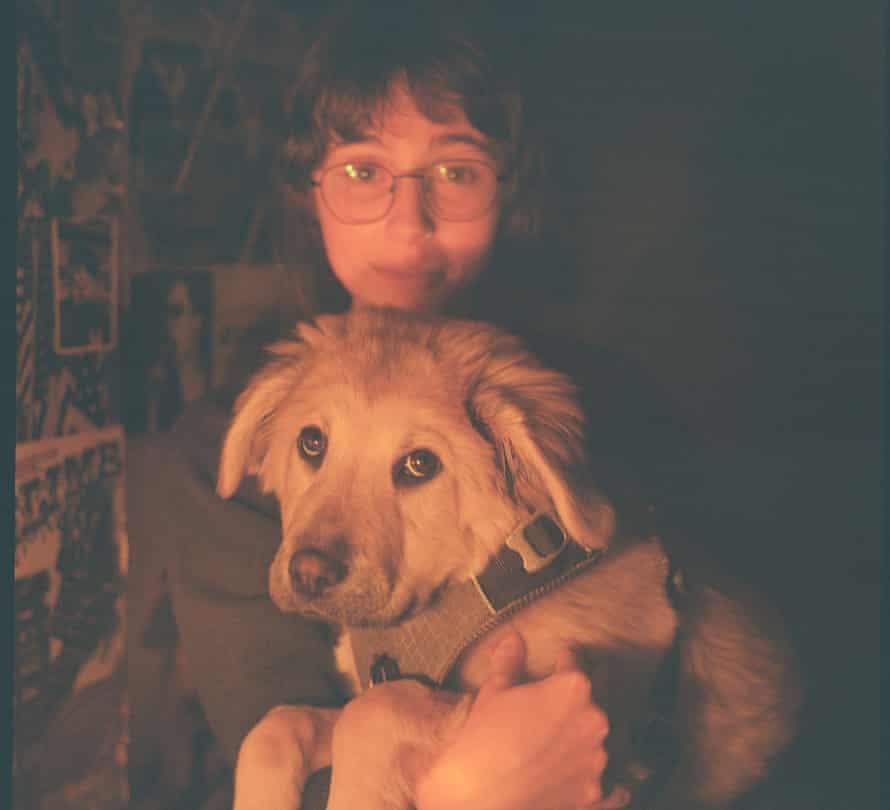 Pup idol ... Clairo and Joanie.