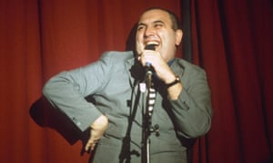 Alexei Sayle with his New Model Comedy.