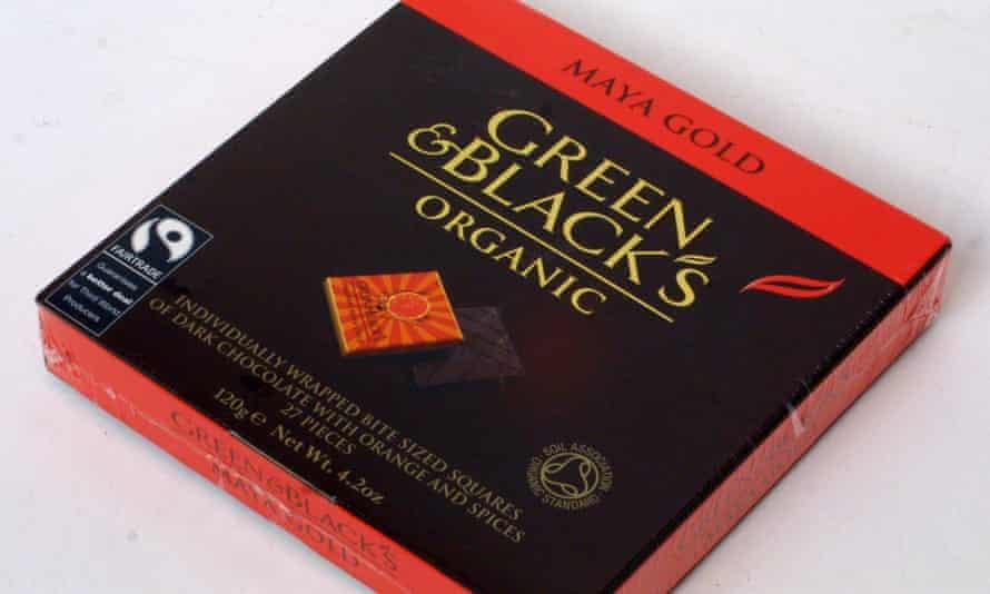 Green & Blacks Maya Gold