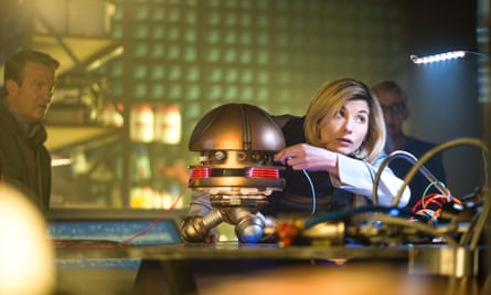 Steady pair of hands … Dr Who.