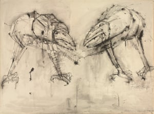 Warrior Birds, 1957, Dame Elisabeth Frink, RA. © The Executors of the Frink Estate and Archive, courtesy of the Ingram Collection.