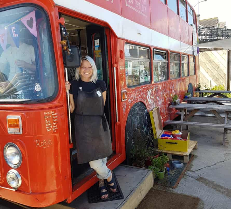 """Margate's Bus Cafe, which will be popping up on guided walks during half-term"""""""