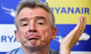 Ryanair chief Michael O'Leary. The airline has been engaged in legal action across Europe against eDreams, a global travel website.