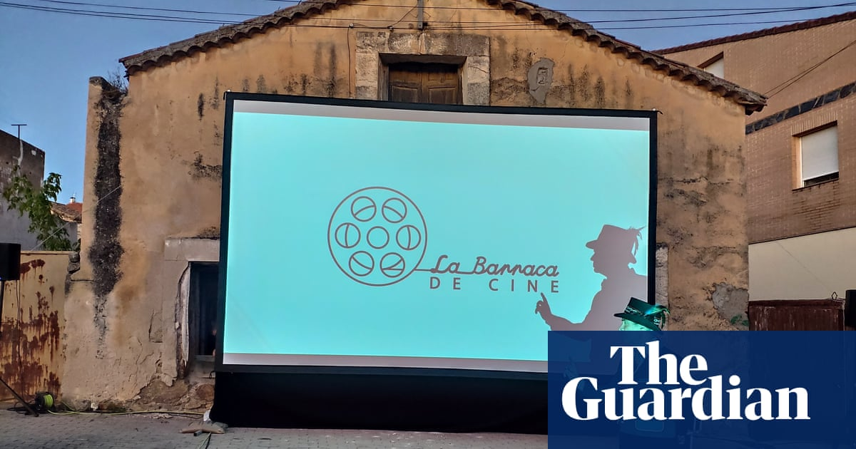 'We want to create magic': Taking cinema to remote Spanish villages