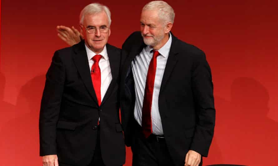 John McDonnell and Jeremy Corbyn want to take Britain not only out of the EU but the single market.