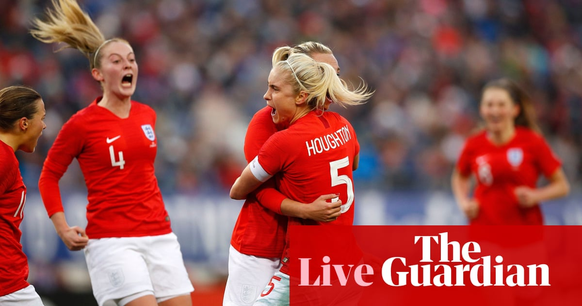 54e4cfa27d8 USA 2-2 England: SheBelieves Cup – as it happened | Football | The ...