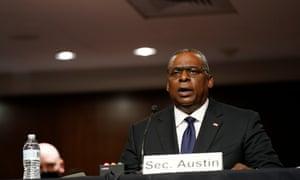 Lloyd Austin phát biểu trước ủy ban vào thứ Ba.