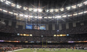 The Superdome hosted Super Bowl XLVII in 2013.