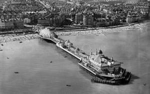 Eastbourne pier, 1931