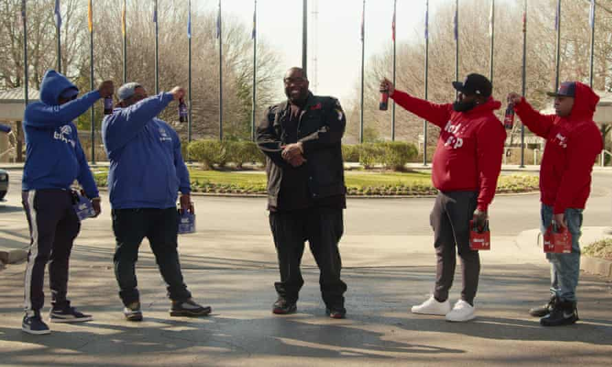 Killer Mike helps to market Crip-a-Cola.