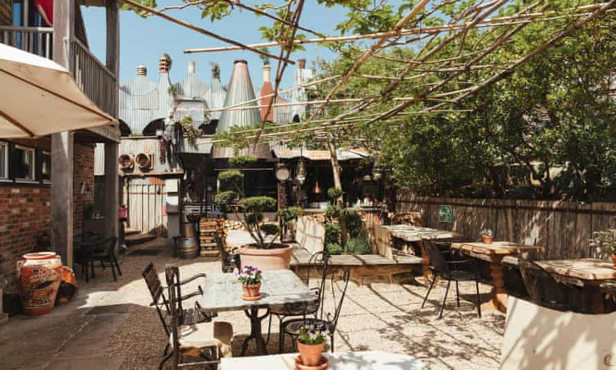 The Garden Kitchen boutique pub, The Bell, in Ticehurst where Curious House hold workshops