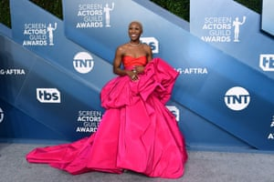 Cynthia Erivo, nominated for the outstanding female actor in a leading role award for Harriet
