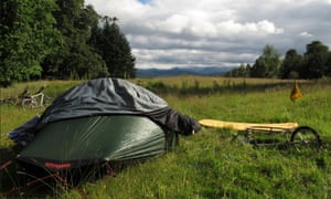 Wild camping is legal in much of Scotland.