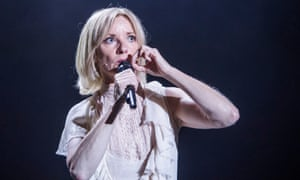Jane Horrocks in Cotton Panic! at Upper Campfield Market Hall, Manchester
