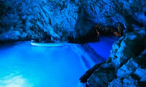 Blue Cave, Bisevo, Vis, Croatia.C2H372 Blue cave, Bisevo, Vis, Croatia.