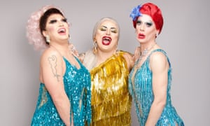 What a drag! ... The Vivienne, Baga Chipz and Divina De Campo.