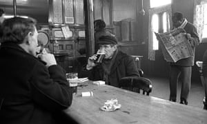 A pub in London's East End in the 1960s.