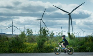 Whitelee windfarm in East Renfrewshire: ministers have cut subsidies.