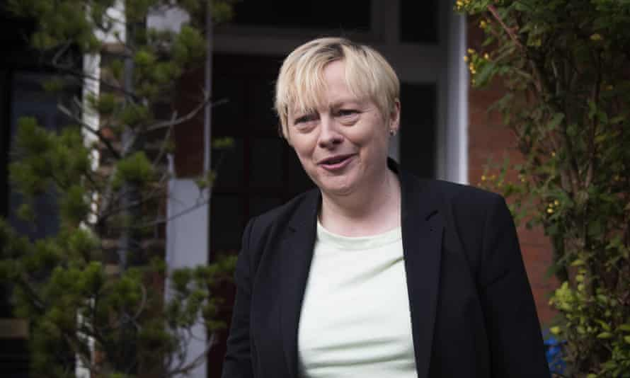 Angela Eagle resigned from the shadow cabinet on Monday.