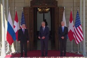 Putin, Parmelin and Biden.