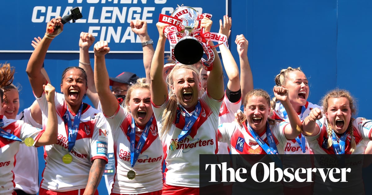 St Helens outclass York to take Women's Challenge Cup with Woosey double