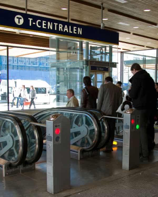 Stockholm's Metro does not accept cash payments.