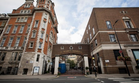 St Mary's hospital.